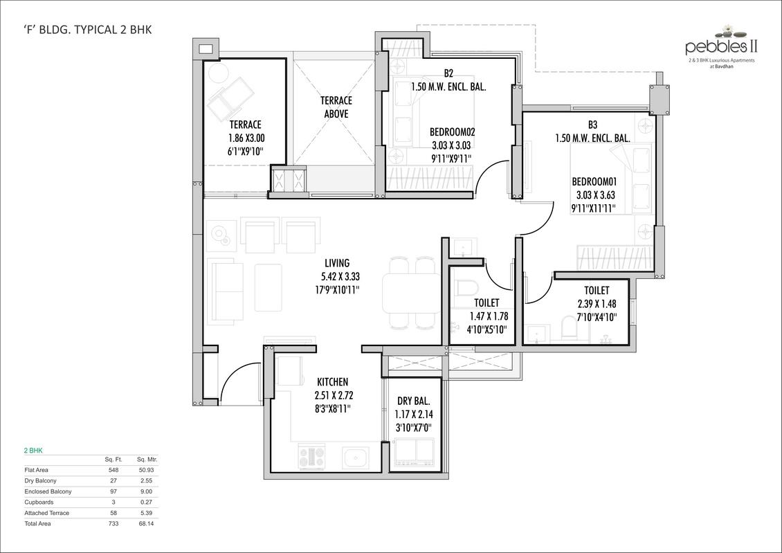 Floor Plans   pebbles 2   bavdhan   buy flat in bavdhan